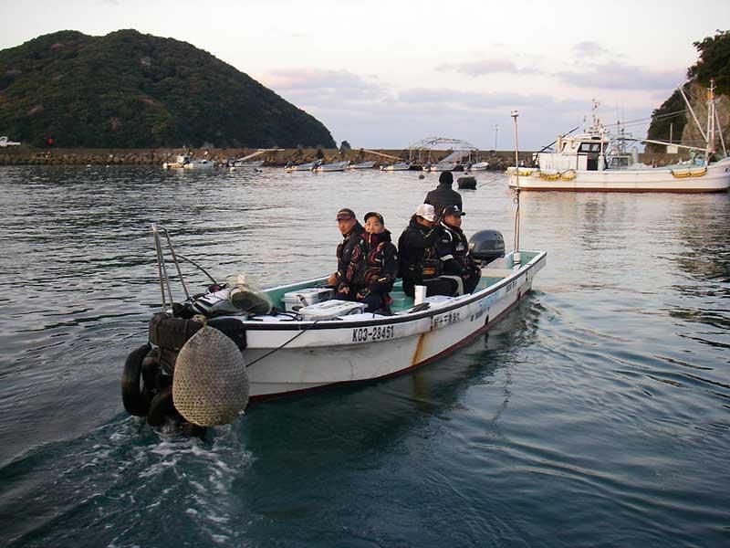 宿毛湾渡船風景