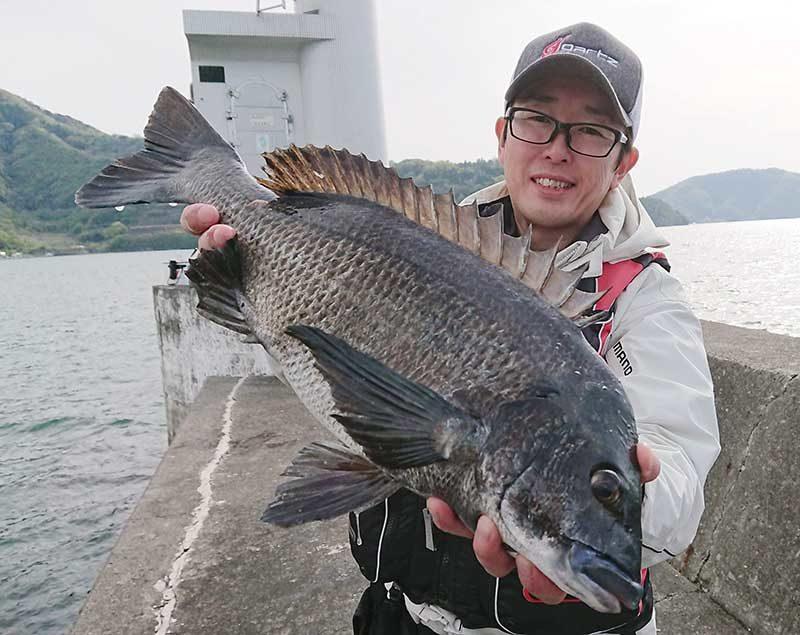 ガルツ 金子さん 大型チヌ 北灘湾