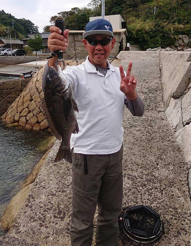 周防大島 フカセ釣り チヌ