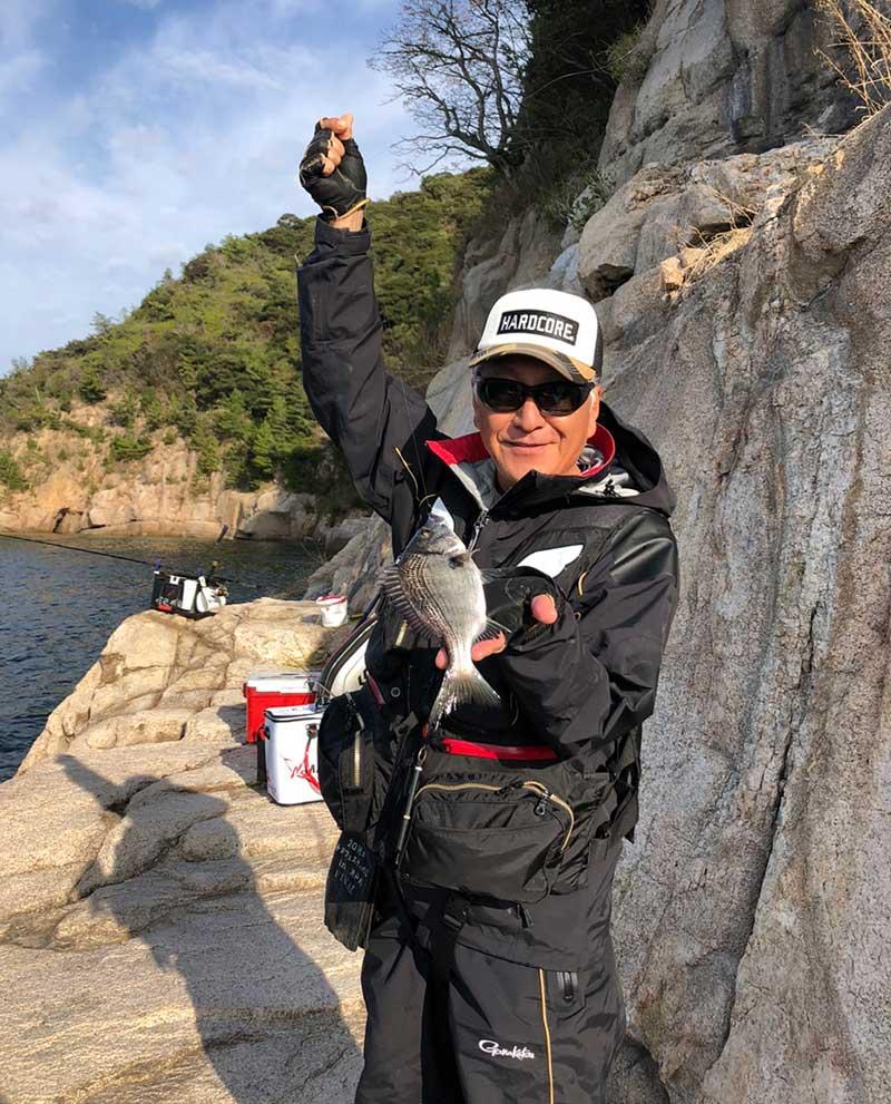 小黒神島 ヒナダン チヌ釣り