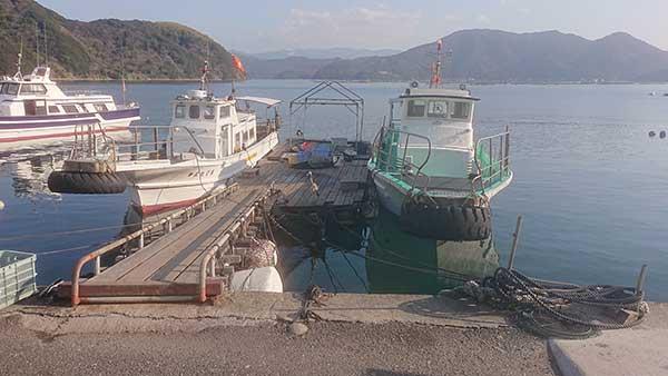 田島渡船 御五神島
