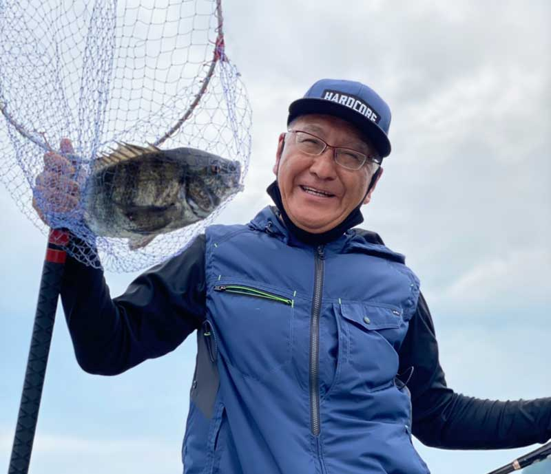 周防大島 チヌ釣り