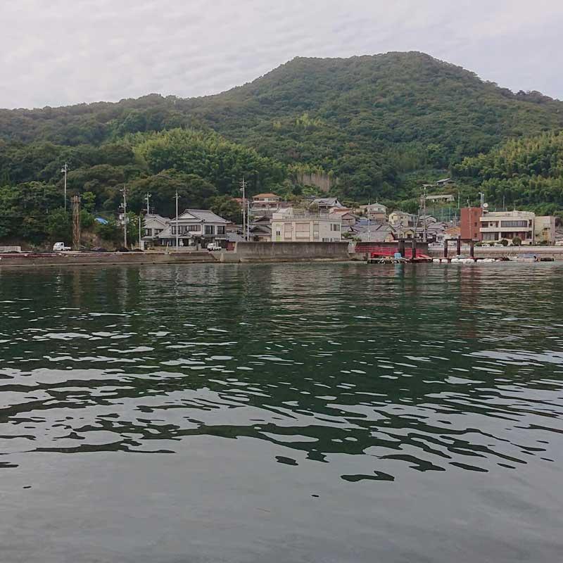 阿多田島 港